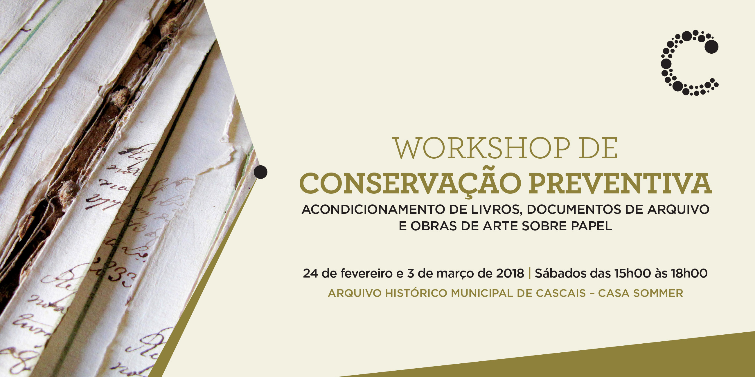 Workshop de conservação preventiva