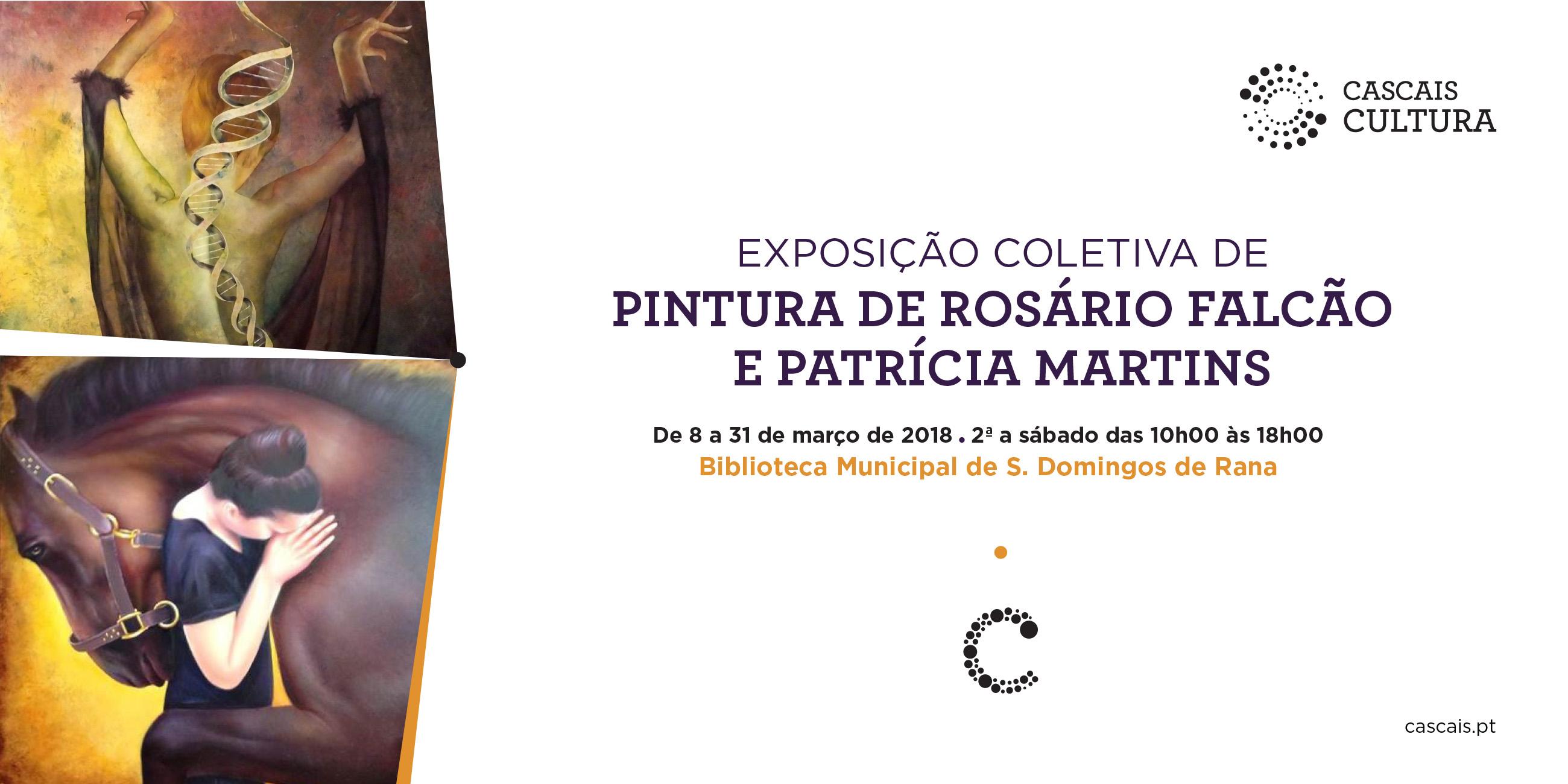 Exposição coletiva de pintura de Rosário Falcão e Patrícia Martins