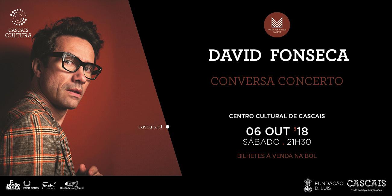 David Fonseca   Conversa Concerto