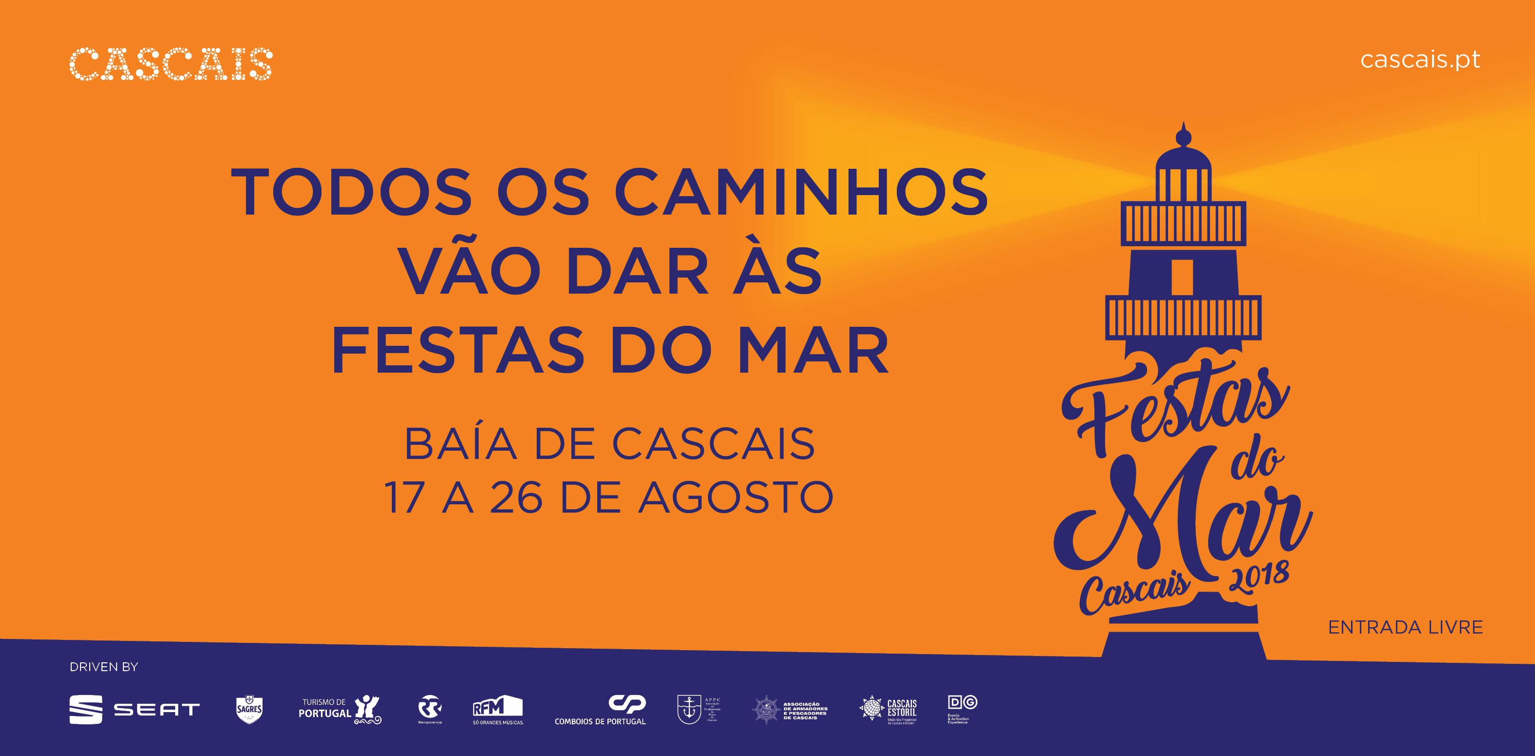 Festas do Mar 2018 - Cartaz