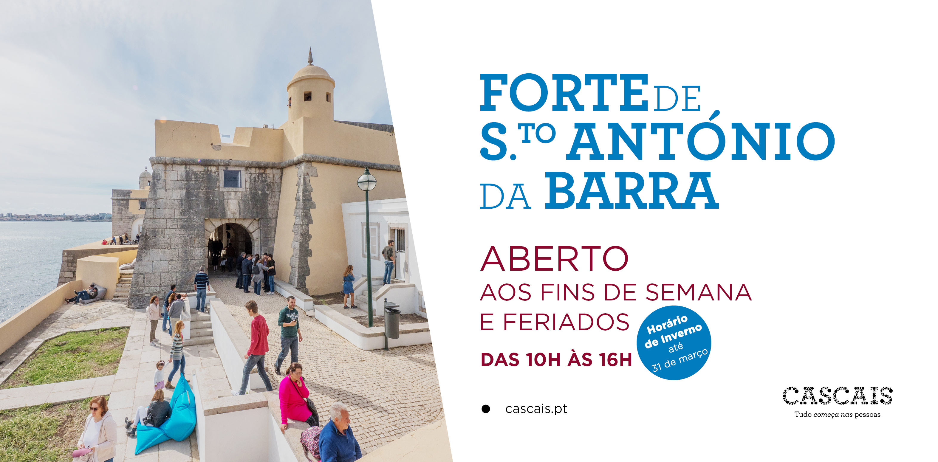 Visitas ao Forte de Sto. António