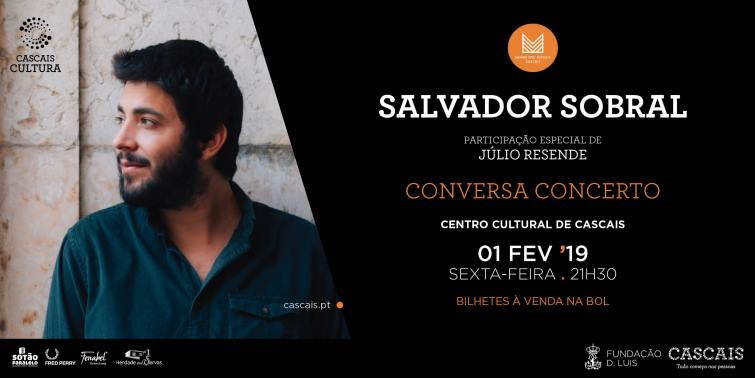 Conversa concerto com Salvador Sobral