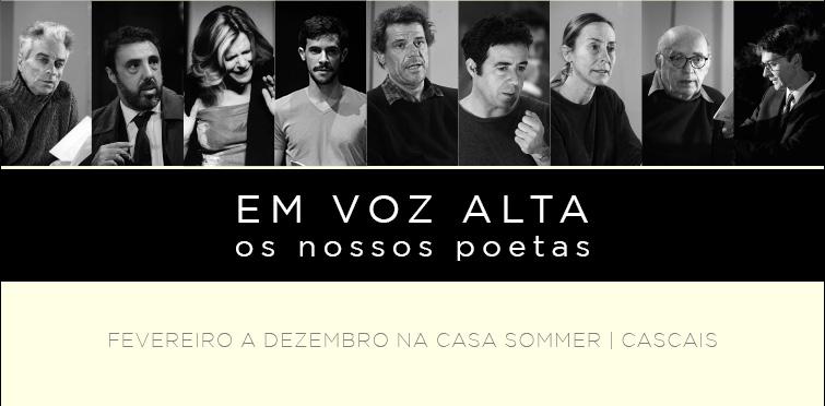 Leituras de poesia portuguesa pelos Artistas Unidos