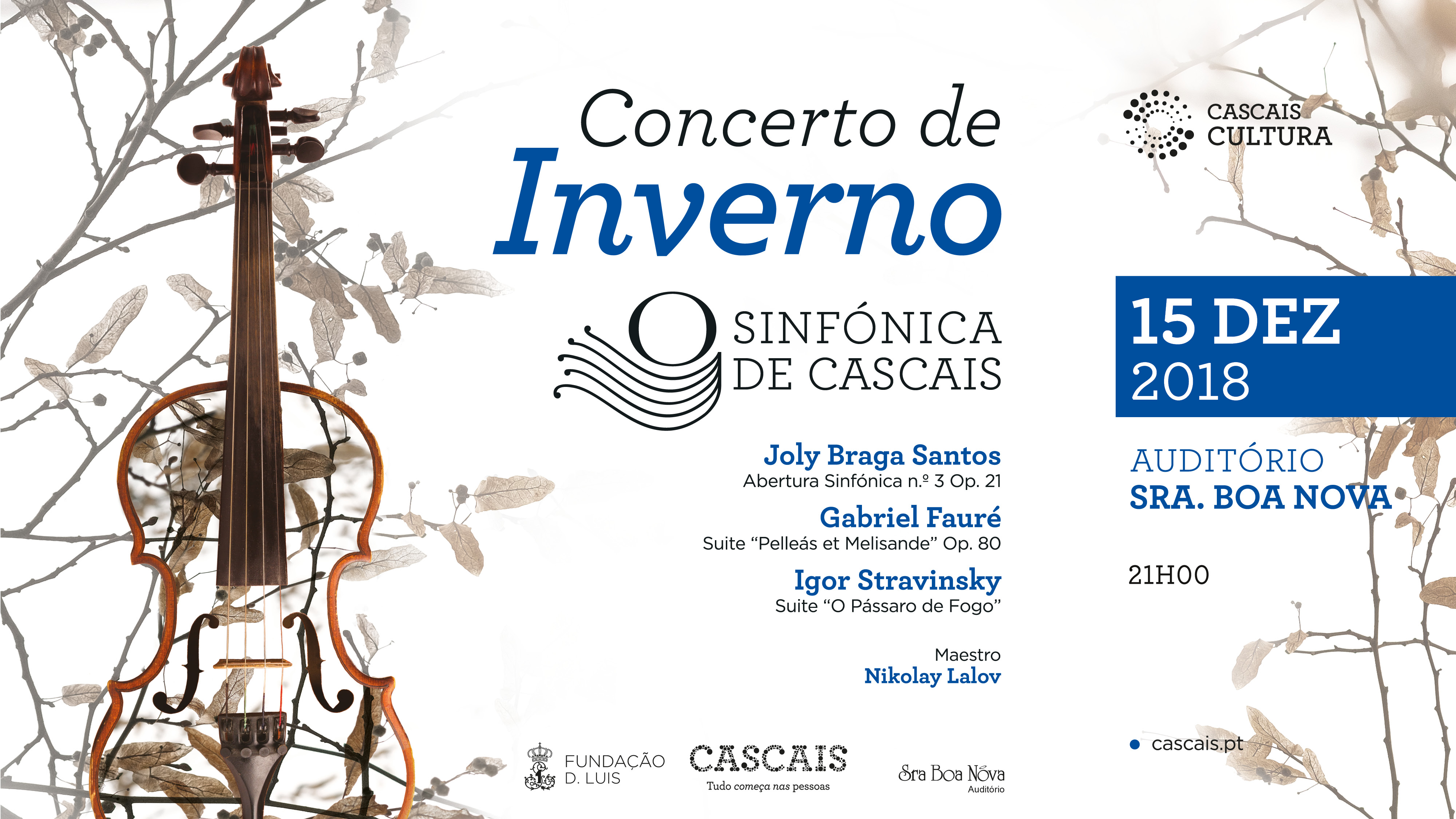 Sinfónica Cascais   Concerto de Inverno