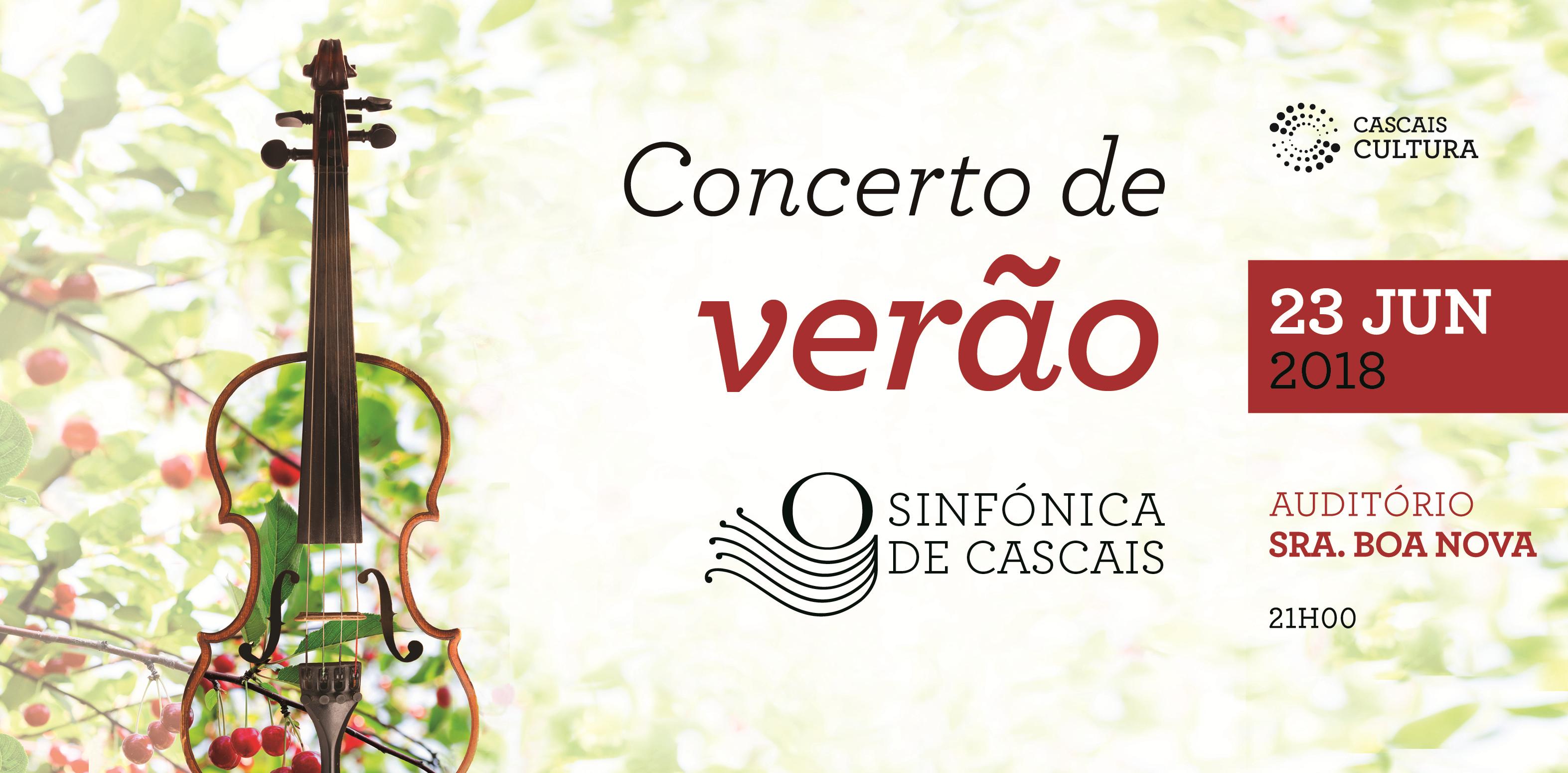 Concerto de Verão 2018 | Sinfónica de Cascais
