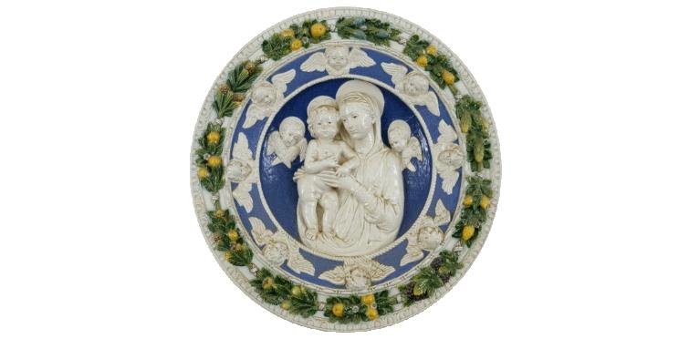 Reproduções da Obra de Della Robbia