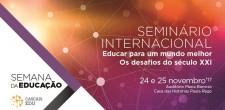 Seminário Internacional ...
