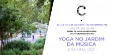 Yoga no Jardim da Música