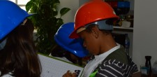 Auditoria ambiental pelos alunos da EB1 de Caparide, Cascais