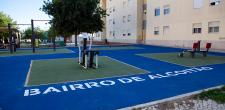 Bairro de Alcoitão recebe equipamentos desportivos 2021