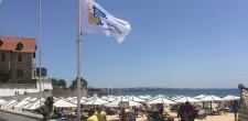 Bandeiras Praia Acessível hasteadas nas praias