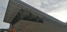 Casa Chabad visita às obras