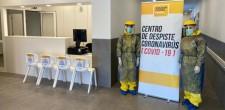 Abertura do Centro de rastreio COVID-19 São Domingos de Rana 2020