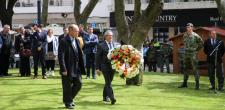 Homenagem aos combatentes da Batalha de La Lys