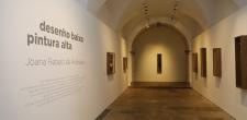 2ª exposição  Inauguração da exposição Desenho baixo, pintura alta de Joana Rebelo de Andrade no Centro Cultural de Cascais 2021