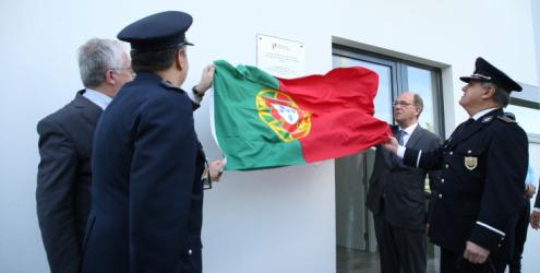 Inauguração da esquadra aeroportuária de Tires