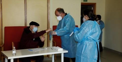 Voto Antecipado   Recolha em Lares e domicílios em confinamento