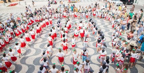 Desfile de Marchas Populares e recepção aos Alunos da Escola EB José Jorge Letria