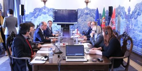 Delegação Russa da República da Sacalina em Cascais para debater OP