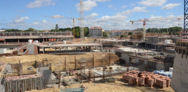 As obras do campus da Nova SBE ...
