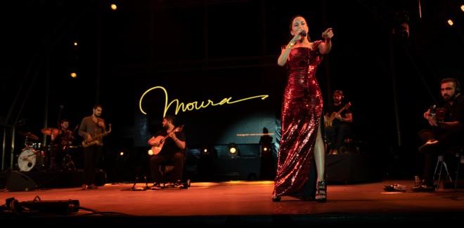 Mais uma vez Ana Moura foi  ...