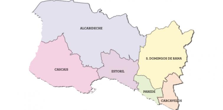 mapa parede cascais Comunicado | Reforma Administrativa: Cascais resistirá à imposição  mapa parede cascais