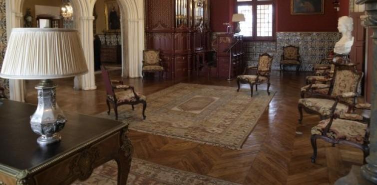 Cultura | Museu Condes de Castro Guimarães - interior