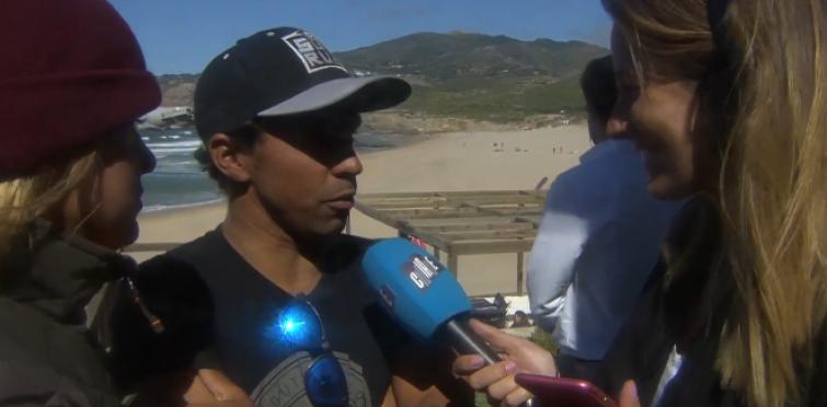Pedro Henrique, assistiu à final de nervos em franja: se Zé Ferreira tivesse ganho não se sagraria campeão