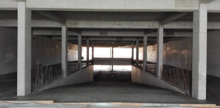 Interior Rampa acesso ao estacionamento (Mar.2017)