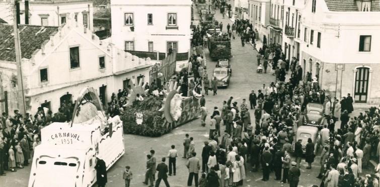 Cortejo do Carnaval de 1951 | Cascais