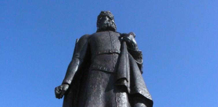 Estátua de dom Pedro I, de António Duarte   Cascais