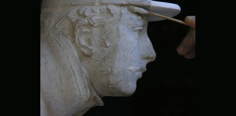 Restauro da maquete do Monumento de Infantaria 19 | Cascai