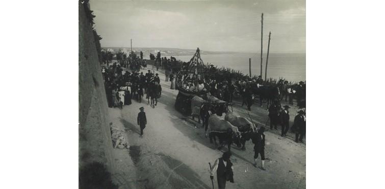 Cortejo da Festa de Nossa Senhora do Cabo, c. 1900 | Cascais