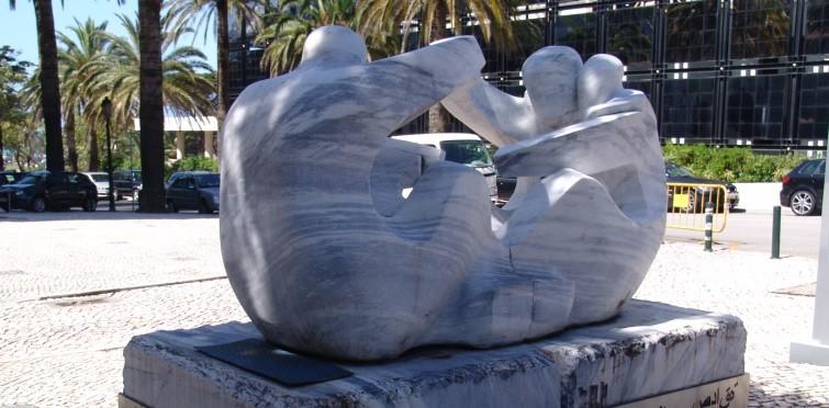 """Amizade"", de Élio Oliveira e Hans Varela   Estoril"