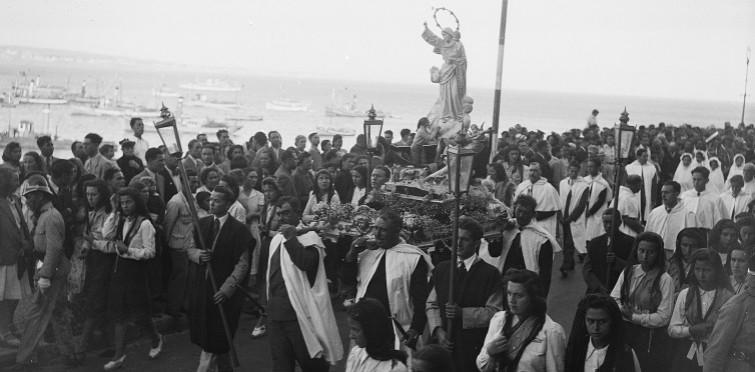 Procissão de Nossa Senhora dos Navegantes, c. 1940 | Cascais