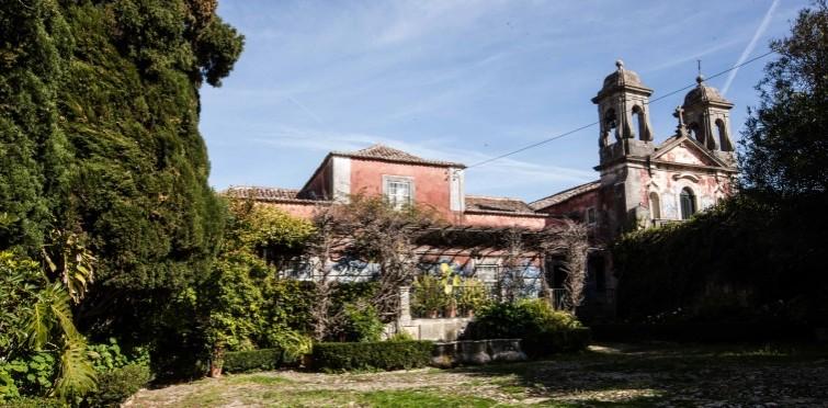 Palácio e capela da Quinta de Manique