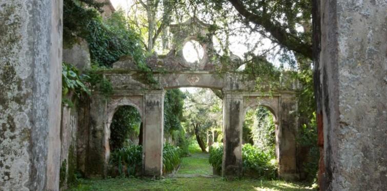 Pormenor do jardim da Quinta de Manique