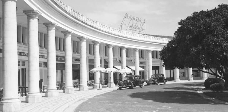 Arcadas  Estoril, meados do século XX
