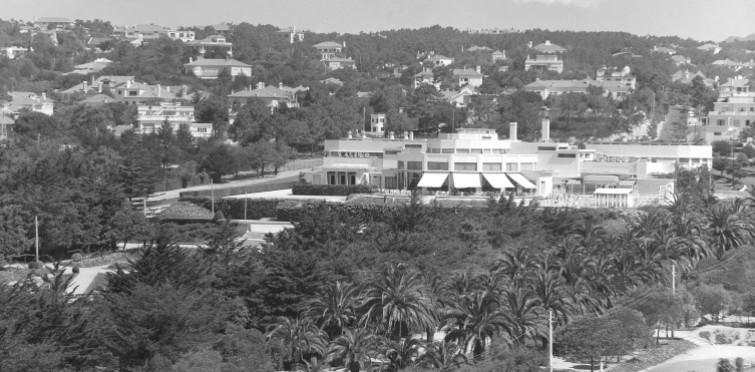 Jardim e Casino   Estoril, meados do século XX