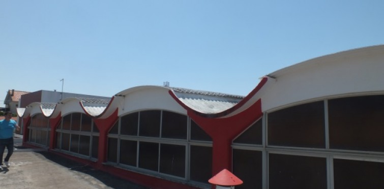 OP20 - Substituição das placas de amianto do teto do Pavilhão Desportivo Os Vinhais
