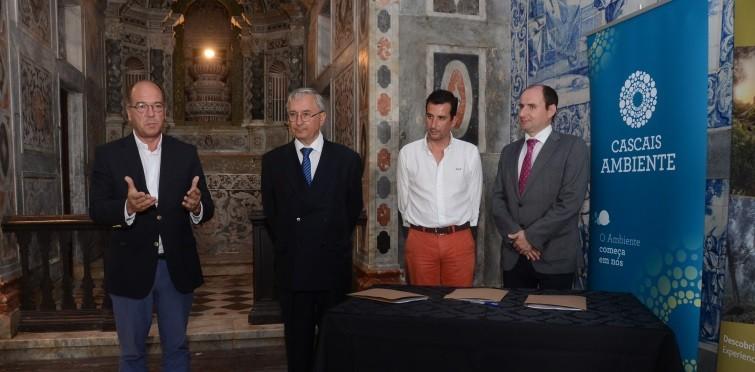 Intervenção do presidente da Câmara de Cascais, Carlos Carreiras
