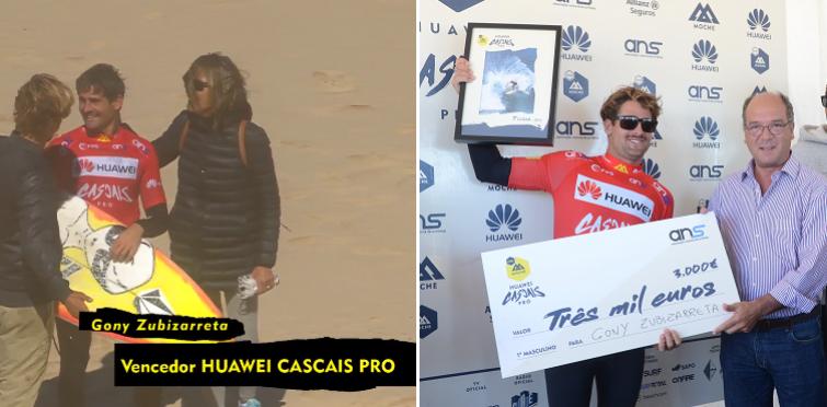 Gony Zubizarreta, vencedor do Cascais Huawei Pro, etapa final da Liga Moche 2016