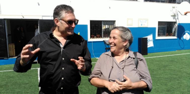 Tim Vieira (Shark Tank) e Maria Gaivão