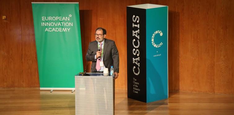João Crespo, vice-reitor da Universidade Nova de Lisboa, um dos parceiros do European Innovation Academy.