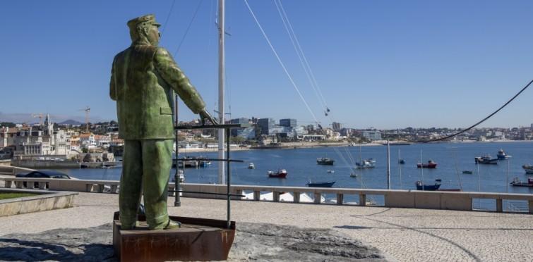 9: Estátua Rei D. Carlos, Passeio D. Maria Pia
