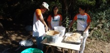Oficina de argamassas de tradicionais nos programas Natura Observa da Cascais Ambiente