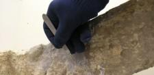 Desincrustação de cepo de âncora de época romana