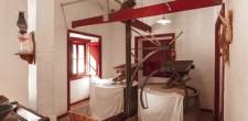 Interior do moinho de armação tipo americano | Alcabideche