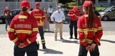 Presidente visitou quartel dos BV Alcabideche
