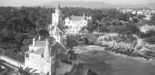Ponte de Santa Marta e Museu-Biblioteca Condes de Castro Guimarães| Cascais, meados do século XX